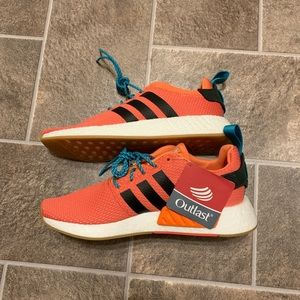 "Adidas NMD R2 ""Summer"" in Orange Outlast"